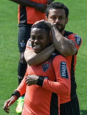 Fred e Robinho, atacantes do Atlético-MG (Foto: Bruno Cantini /Flickr do Atlético-MG)