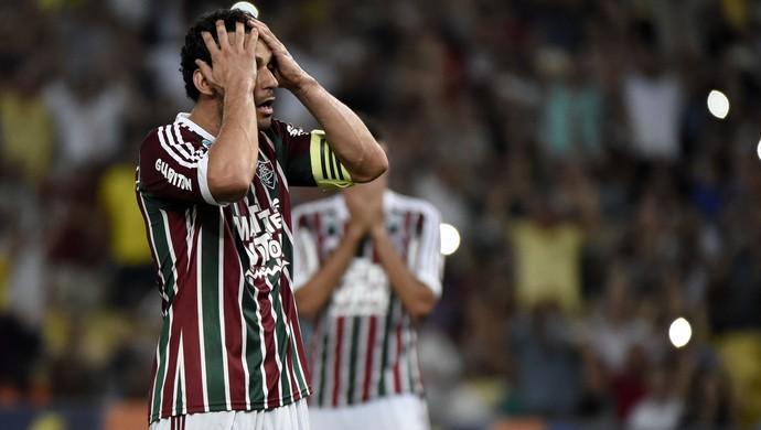 Fred - Fluminense x Palmeiras (Foto: André Durão)