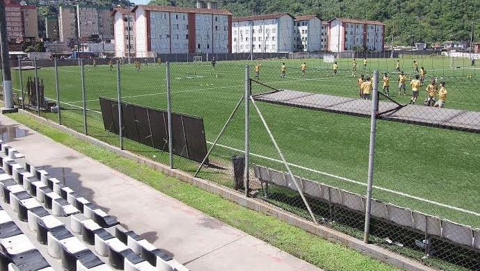 CT Meninos da Vila Santos (Foto: Pedro Ernesto Guerra Azevedo / Santos FC)