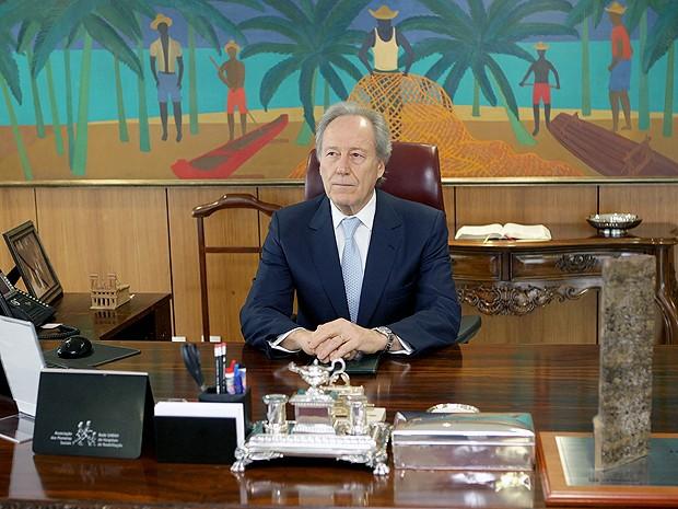 O presidente do STF, Ricardo Lewandowski, assume a República como interino. (Foto: Nathalia Passarinho/G1)