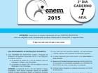 Notas do Enem 2015 serão divulgadas pelo Inep nesta sexta