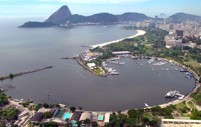 Baía de Guanabara sistema de tratamento sanitário (Foto: Ascom )