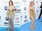 Transparências, decotes e pernas de foras... Estrelas apostam em looks ousados no Billboard Music Awards