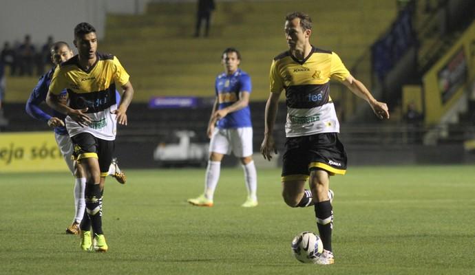 Martinez Criciúma Cruzeiro (Foto: Fernando Ribeiro / Criciúma EC)