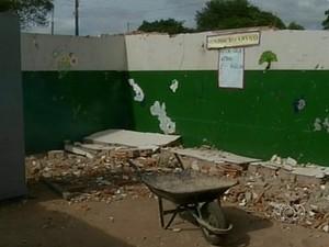 Vigia diz que teme pela integridade dos filhos após acidente (Foto: Reprodução/TV Anhanguera)