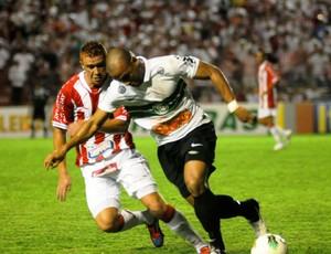 Náutico x Coritiba, nos Aflitos (Foto: Aldo Carneiro / Pernambuco Press)