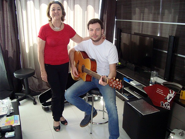 The Voice Gustavo Trebien (Foto: Arquivo pessoal)