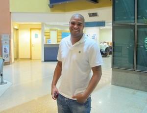 Adriano, no Barra D'Or (Foto: Thales Soares / Globoesporte.com)
