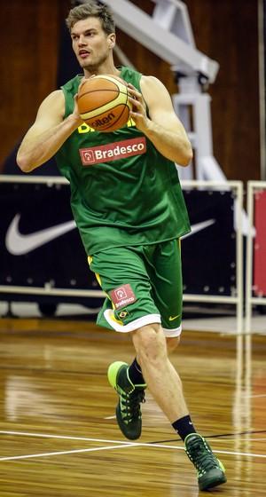 Tiago Splitter seleção brasileira basquete São Paulo (Foto  Gaspar  Nobrega Inovafoto) 1936770a3db7a