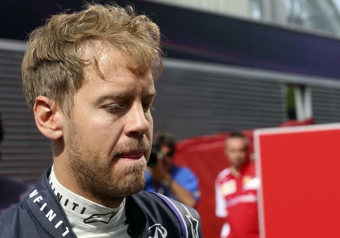 Sebastian Vettel treino classificatório GP da Espanha (Foto: AP)