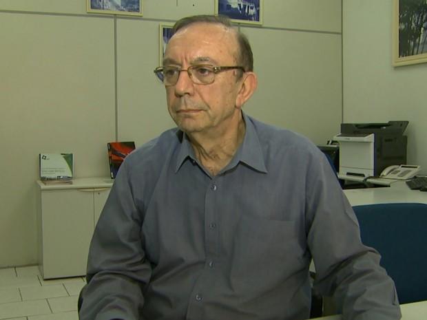 O secretário da Fazenda de Ribeirão Preto, Sérgio Nalini (Foto: Reprodução/EPTV)