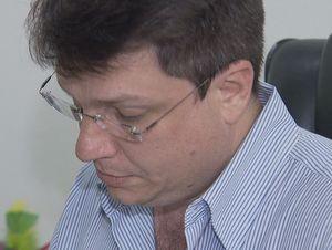 Silvio César Corrente (PTB) assumiu a Prefeitura de Águas de São Pedro (Foto: Reprodução EPTV)