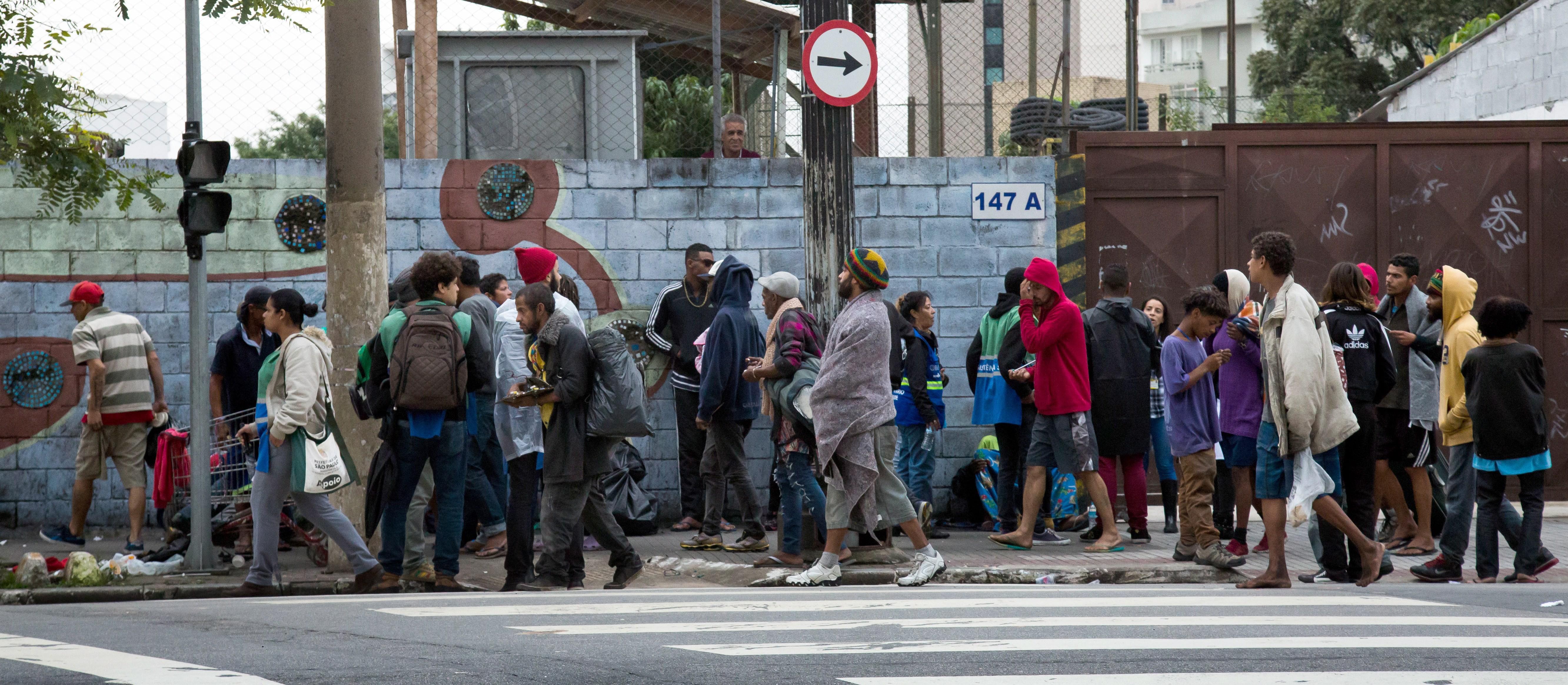"""Ação violenta da Polícia Militar acontece em região batizada como """"Cracolândia"""", no centro de São Paulo (Foto: Acervo )"""