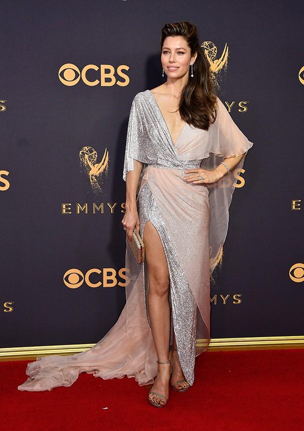 Jessica Biel veste Ralph&Russo (Foto: Getty Images)