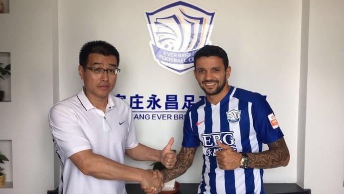 Matheus vai para o futebol chinês (Foto: Divulgação)