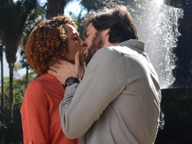 Herval e Verônica (Foto: Raphael Dias/Gshow)