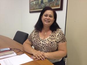 Alice Ribeiro, secretária adjunta de políticas de assistência da Sims (Foto: John Pacheco/G1)