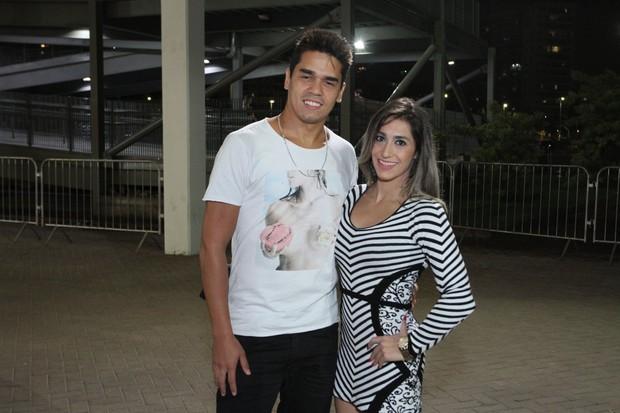 Daniele Hypolito e o namorado (Foto: Thyago Andrade/Brazil News)
