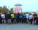 Após longa jornada, judocas chegam à Rússia cansados e com tempo frio