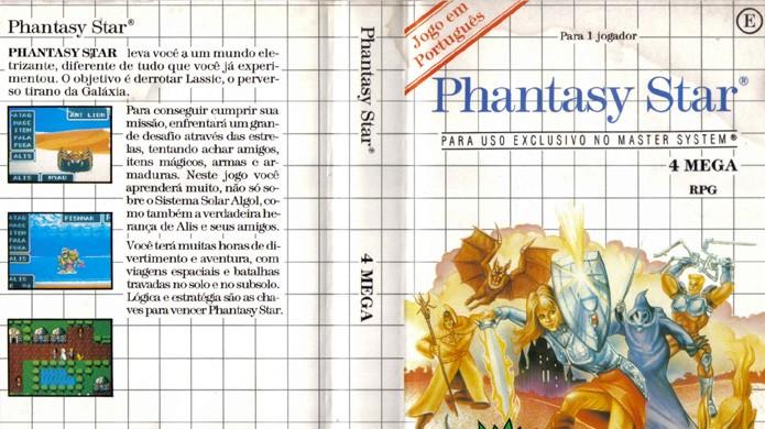 Phantasy Star em português foi uma das surpresas do Master System (Foto: Reprodução/A Gazeta de Algol)