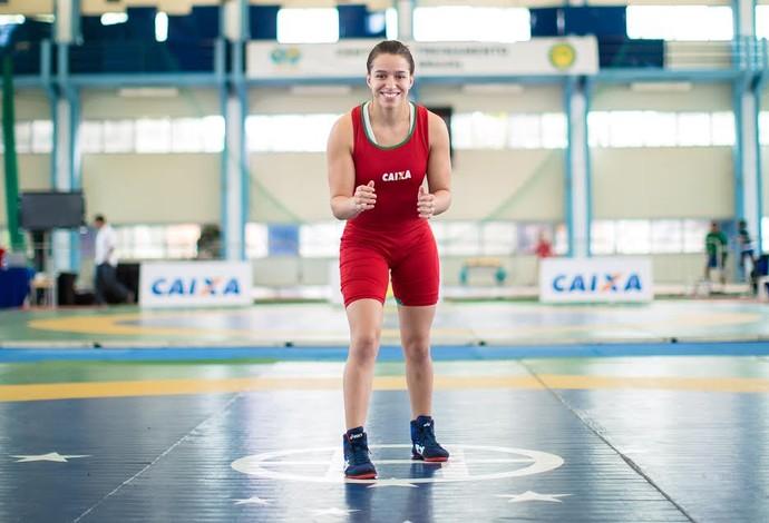 Giullia Penalber luta olímpica (Foto: Divulgação/CBLA)