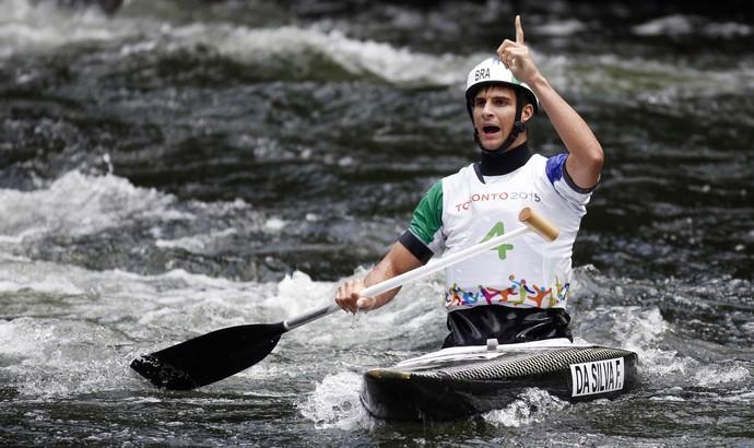 Felipe Silva leva o bronze na canoa masculina (Foto: Jeff Swinger-USA TODAY Sports)