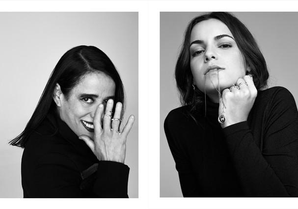 """A estilista Gloria Coelho e a chef Renata Vanzetto para o livro """"75"""" (Foto: Divulgação)"""