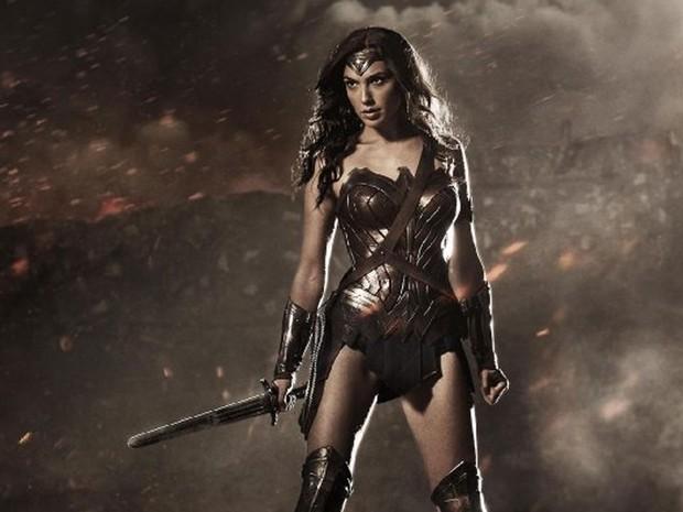 Gal Gadot como Mulher-Maravilha em 'Batman vs Superman: A origem da justiça' (Foto: Divulgação)