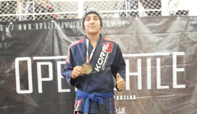Thiago Tavares lutador de jiu jitsu (Foto: Arquivo pessoal )