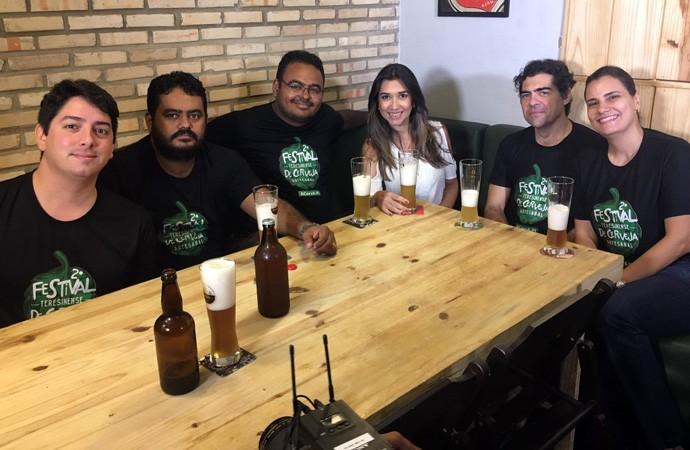 Cervejeiros mostram opções artesanais com sabor e arome diferenciados (Foto: Gshow/Rede Clube)