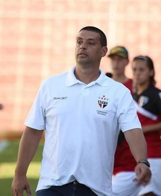 Marcello Frigério técnico São Paulo futebol feminino (Foto: Igor Amorim / saopaulofc.net)