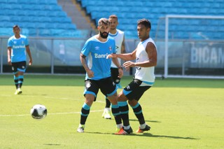 Douglas Werley Grêmio (Foto: Eduardo Moura/GloboEsporte.com)