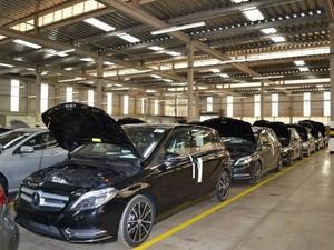 Centro de inspeção da Mercedes-Benz entrou em funcionamento em Iracemápolis (Foto: Graziela Félix/Prefeitura de Iracemápolis)