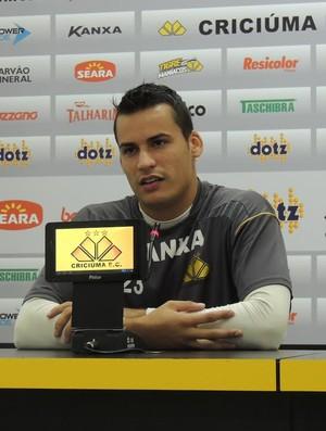 Bruno criciúma (Foto: João Lucas Cardoso)