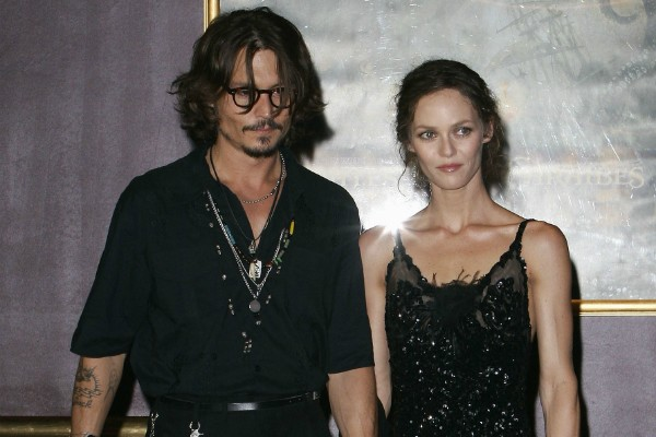 Johnny Depp e Vanessa Paradis (Foto: Getty Images)