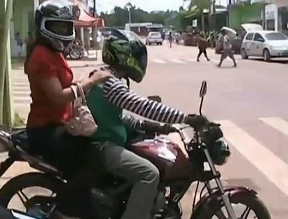 Dois anos de habilitação é pré requesito para ser mototaxista (Foto: Amazônia TV)
