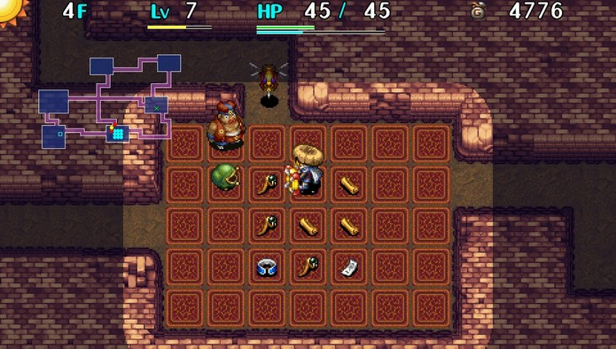 Shiren The Wanderer: The Tower of Fortune and the Dice of Fate (Foto: Divulgação/Chunsoft)