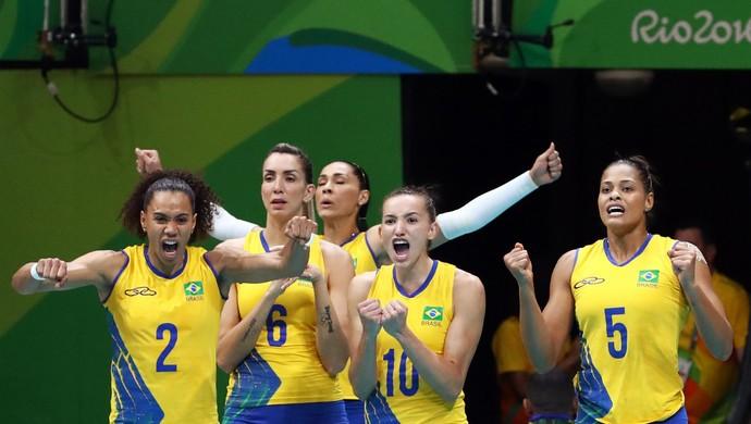 brasil, china, vôlei, juciely (Foto: REUTERS / Yves Herman)