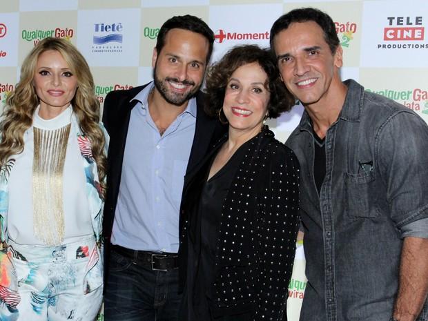 Famosos em pré-estreia de filme na Zona Sul do Rio (Foto: Alex Palarea/ Ag. News)