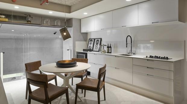 Cozinha , design feito para viver, minimalista (Foto: Divulgao/Lder)