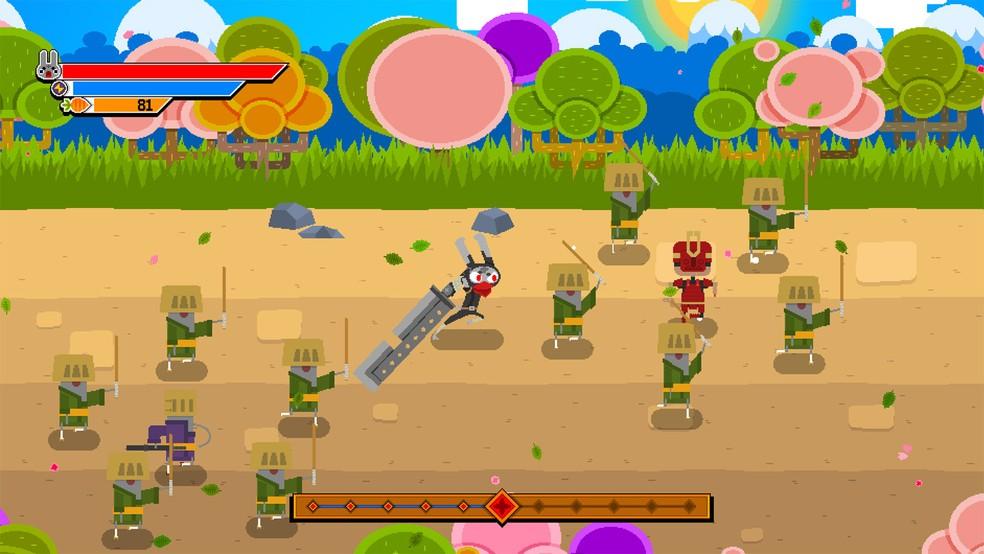 'Ninjin: The Clash of Carrots' é game brasileiro de ação com uma temática de ninjas e samurais (Foto: Divulgação)