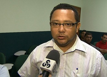 João Carlos Passos, presidente do Alto Acre (Foto: Reprodução/TV Acre)