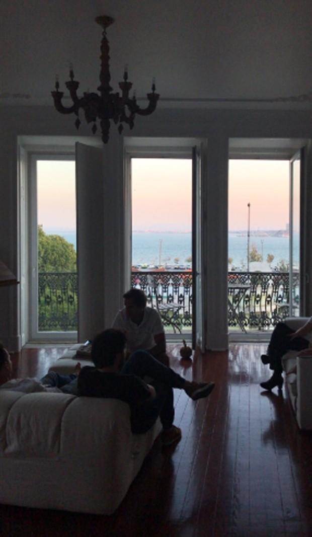 Casa de Giovanna Antonelli em Lisboa (Foto: Reprodução)