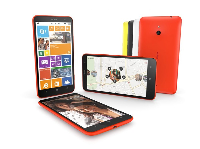 Lumia 1320 é um foblet da Nokia com Windows Phone 8 e processador dual-core (Foto: Divulgação/Nokia)