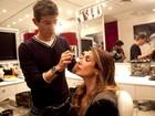 Veja os segredos de Luciana Gimenez na hora da maquiagem e de tratar dos cabelos