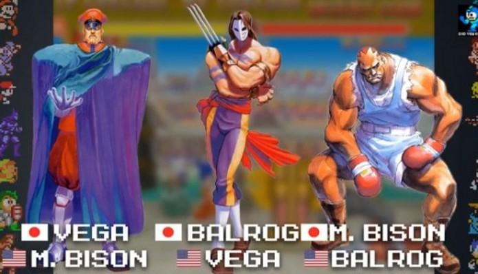 Respectivos nomes no Japão e EUA (Foto: Reprodução / videogamewriters.com)
