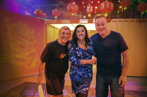 Regina Casé participa do 'Divertics' (Foto: Raphael Dias/TV Globo)