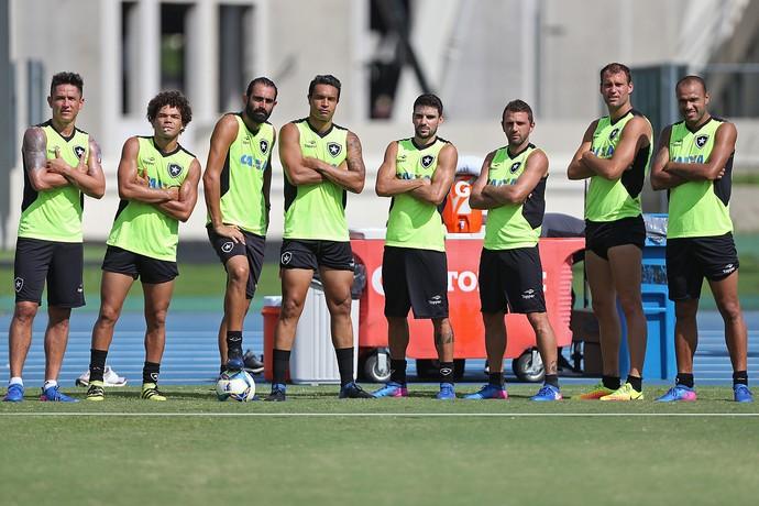 Treino Botafogo (Foto: Vitor Silva / SSpress / Botafogo)