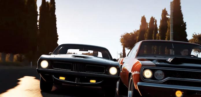 Forza Horizon 2: novo vídeo mostra carros da expansão de Velozes e Furiosos (Foto: Reprodução/Youtube)