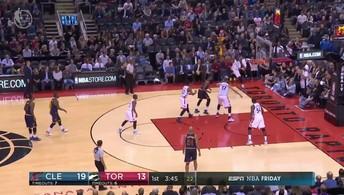 Melhores momentos de Cleveland Cavaliers 94 x 91 Toronto Raptors pela NBA